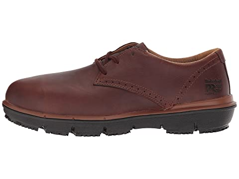 Timberland Grain Oxford SD Alloy PRO LeatherBrown Full Toe Black Boldon Safety Suede FByRFUr6