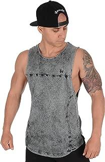 Tank Tops Men Long Summer Muscle Bodybuilding Gym 307
