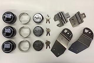 Slick Locks Nissan NV200 Kit - Complete w/ Brackets, Locks, Spinners, & Covers