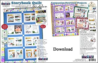 ScrapSMART - Storybook Quilt for Adam - Software Collection - Jpeg, PDF, and Microsoft Word files for Mac [Download]