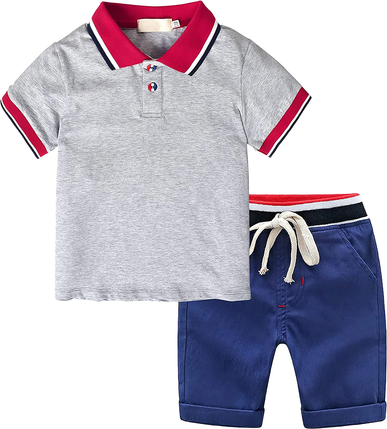 Nwada Boys Summer Shorts Sets Ranking TOP16 Kid Outfits Tops New Orleans Mall + T-Shirts
