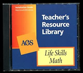 AGS Teacher's Resource Library - Life Skills Math - CD-ROM