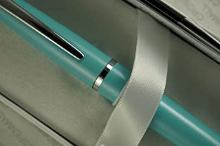 Cross Executive Companion Limited Edition ATX Pearlescent Teal-Blue and Polished appointments Ballpoint Pen by A.T. Cross