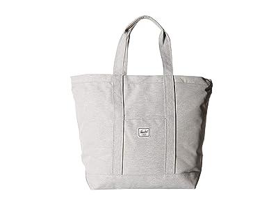 Herschel Supply Co. Bamfield Mid-Volume (Light Grey Crosshatch 1) Tote Handbags