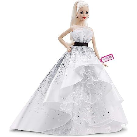 Barbie - Collector Muñeca Rubia Celebración del 60 Aniversario (Mattel FXD88)