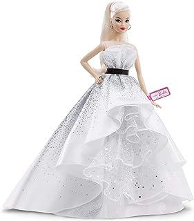 Barbie Collector 60th Anniversary Celebration White Dress Do