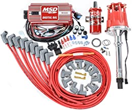 MSD 85551K Ignition Kit Includes Distributor 6AL Ignition Box Blaster 2 Coil