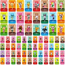 $42 » Uniq Fliker 72PCS ACNH NFC Tag Game Villager Invitation Card-New Horizons Animal Crossing Series Game, Cards Series for Sw...