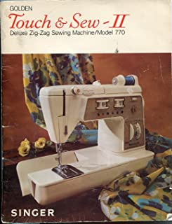 Golden Touch & Sew II Deluze Zig-Zag Sewing machine Model 770 instruction manual