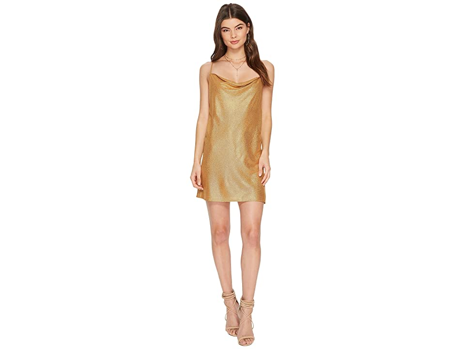 The Jetset Diaries Vay Cay Foil Slip (Gold Foil) Women