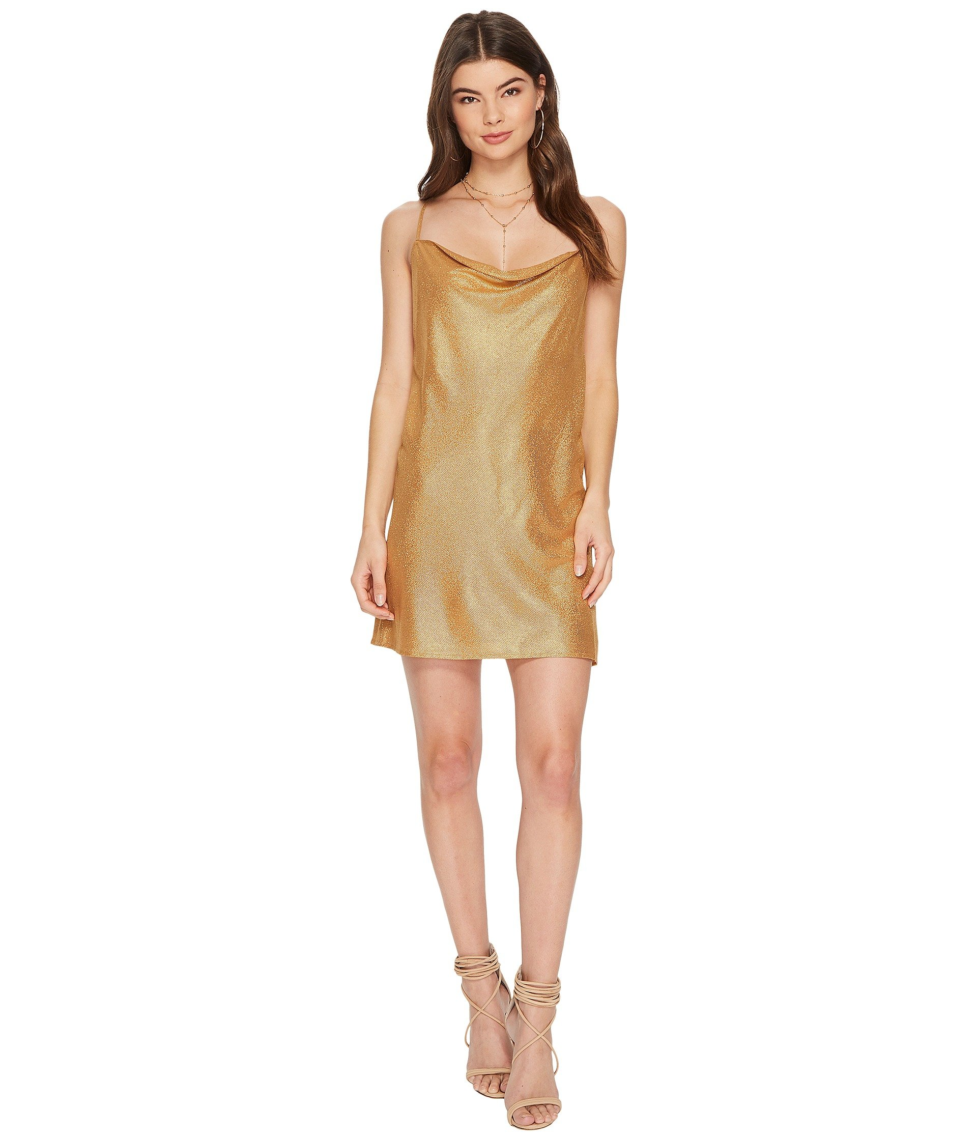 THE JETSET DIARIES Vay Cay Foil Slip, Gold Foil