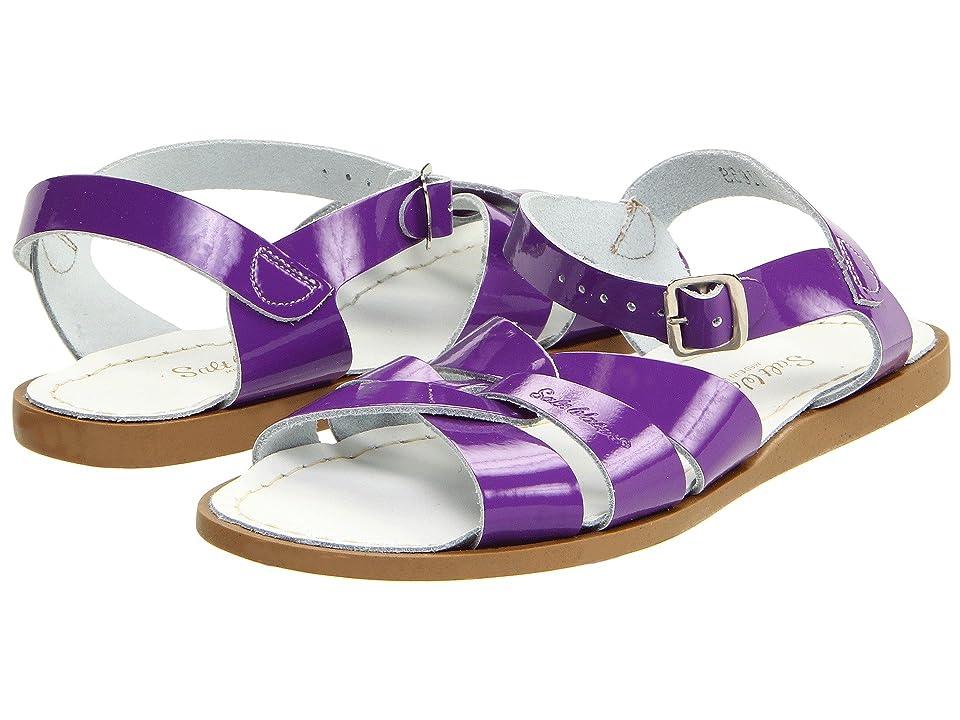 Salt Water Sandal by Hoy Shoes The Original Sandal (Big Kid/Adult) (Shiny Purple) Girls Shoes