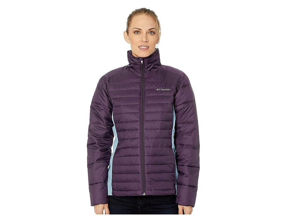 Columbia Powder Pillowtm Hybrid Jacket (Dark Plum/Dark Mirage) Women