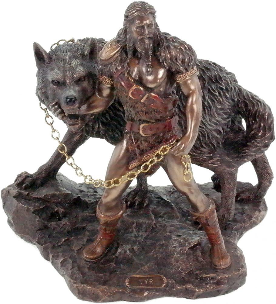 Veronese - statuetta di dio tedesco