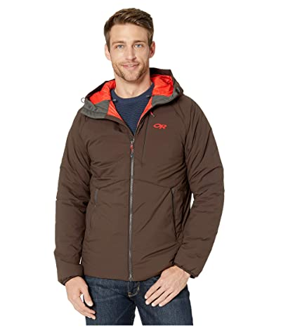 Outdoor Research Refuge Hooded Jacket (Dark Roast) Men
