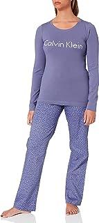 Calvin Klein Women's L/S Pant Set Pajama