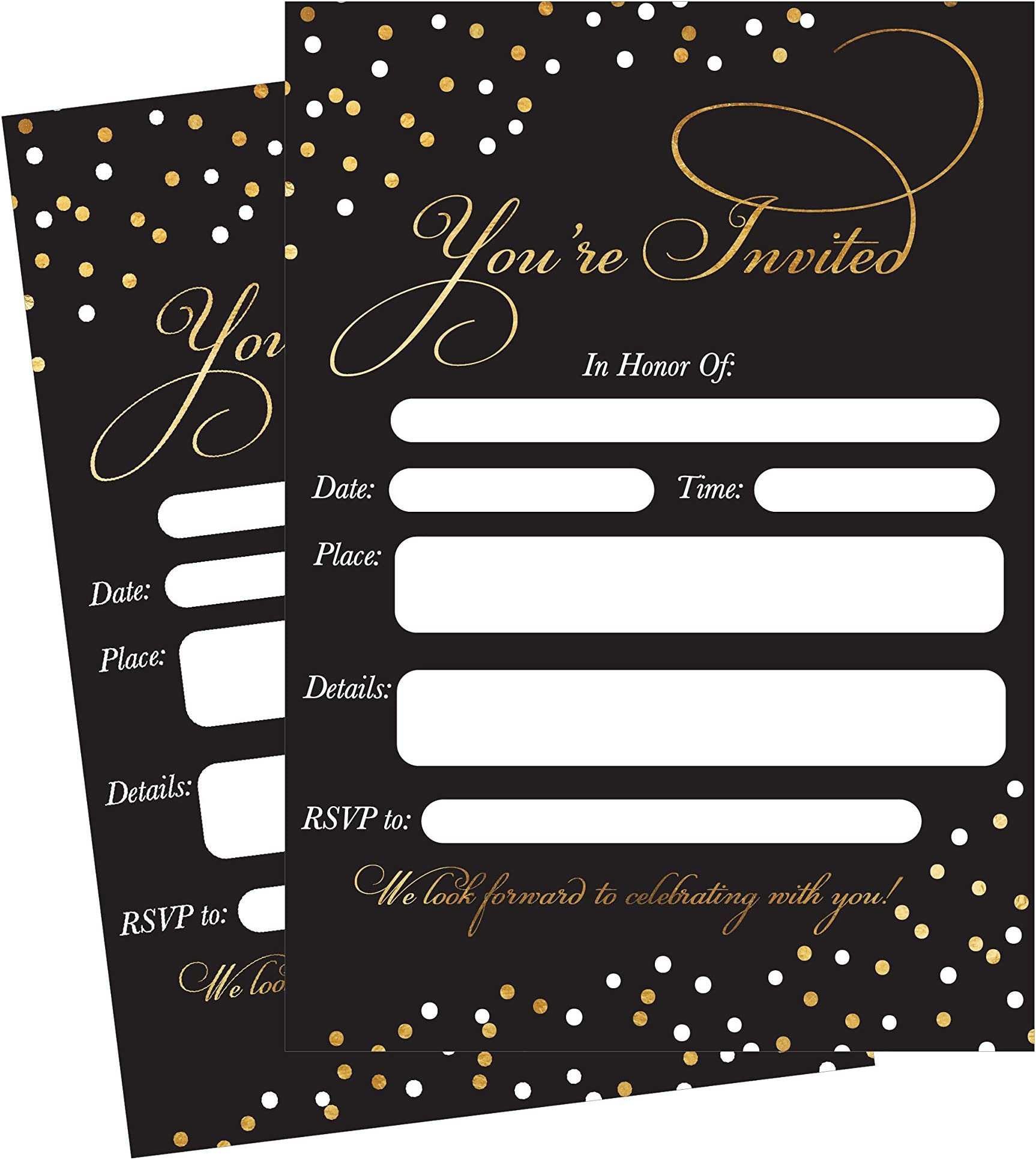 Engagement Invitations birthday Invitations Wedding Invitations Printed invitations Baby Shower Invitations 4x6 Printed Invitations