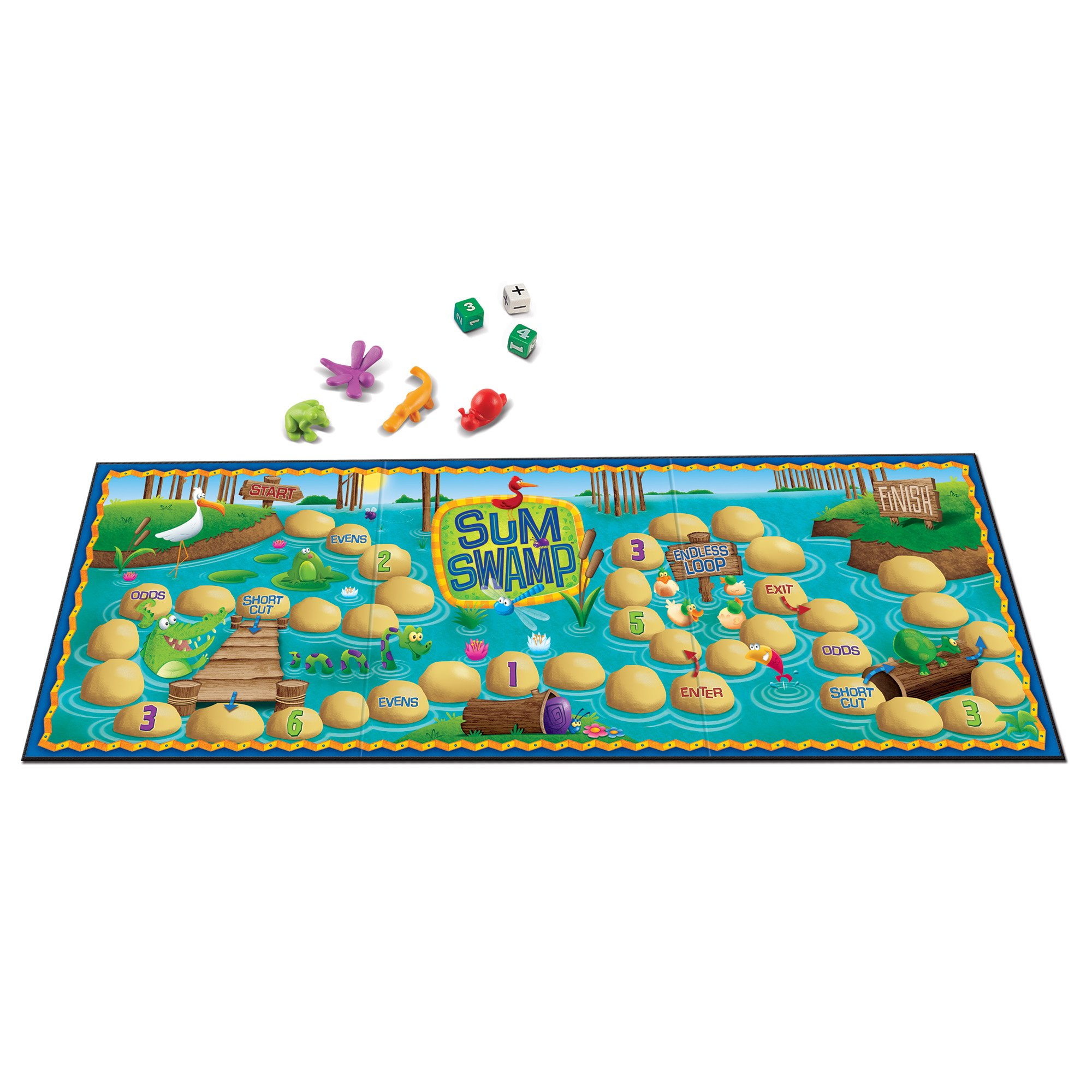 Learning Resources Swamp Game Pieces
