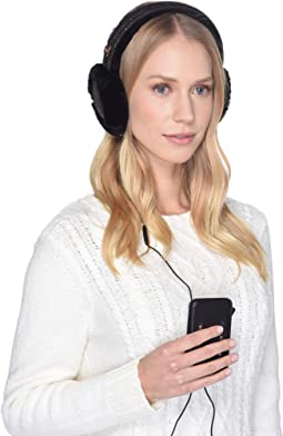 Classic Water Resistant Sheepskin Tech Earmuff with Tech Option