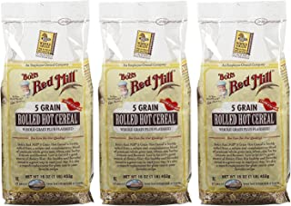 Bob's Red Mill 5 Grain Rolled Cereal - 16 oz - 3 pk