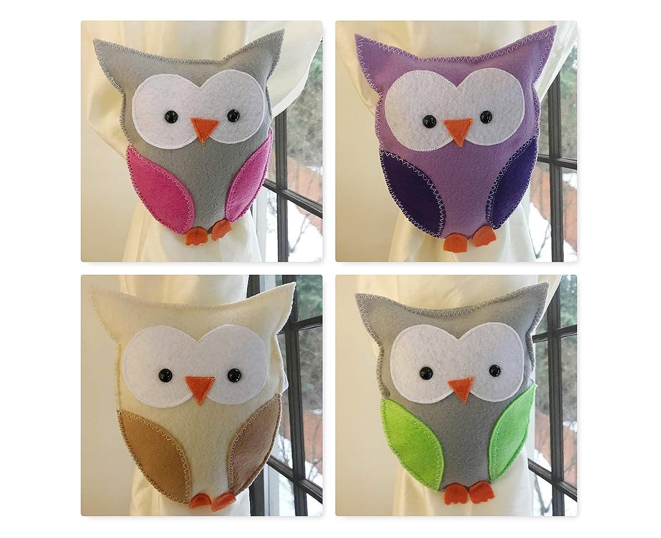 Owl curtain tieback, Kids bedroom decoration, Animal Theme room decor, pick colors, Kid Gift Present