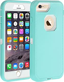 Co-Goldguard iPhone 6s Plus/6 Plus Case,HEAVY DUTY Armor 3 in 1 Rugged Cover with Front Frame Dust-Proof Shockproof Drop-Proof Scratch-resistant Anti-slip Shell for iPhone 6+/6s+ 5.5