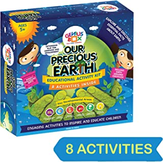 Genius Box Educational Toy for 5+ Year Age: Our Precious Earth DIY, Activity Kit, Experiment, Learning Kit, Educational Ki...