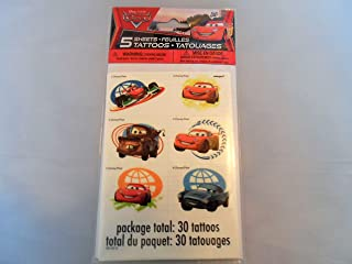 Greenbrier International Cars 5 Sheets of Tattoos-Receive 30