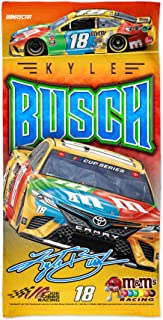NASCAR Martin Truex Jr NA WinCraft NASCAR Joe Gibbs Racing Martin Truex Jr Multi #19 30 x 60 Spectra Beach Towel