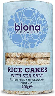 Biona Organic Rice Cakes with Salt, 100 g