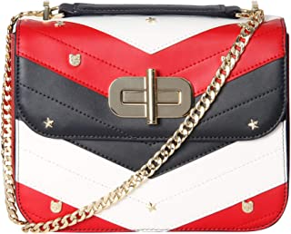 Tommy Hilfiger Flap Bag for Women - Multi Color (AW0AW05716-901)