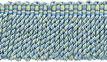 30 Ft // 9 Meters Navy Blue Taupe 4//16 Imperial II Lip Cord Style# 0416I2 Color: Navy Gold DecoPro 10 Yard Value Pack of Medium Gold 1152