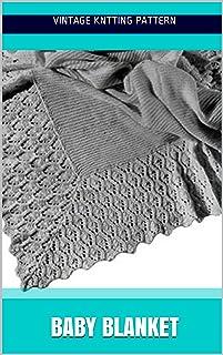 Baby Blanket - Knit Pattern