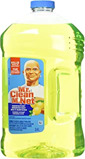 Mr. Clean Liquid All Purpose Antibacterial Cleaner, Summer Citrus 2.4 L, 81.1537 Ounce- Packaging May Vary