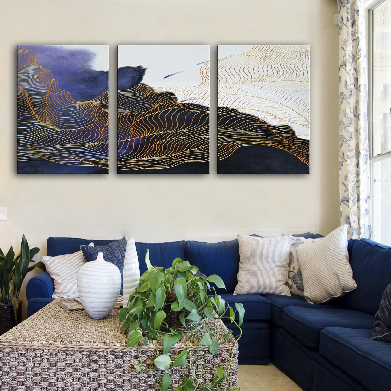 WG Magische Muster dekorative Kunstsammlungen, Rahmenlos Gemälde, dekorative Malerei Das Wohnzimmer Flur, 35  50cm3pc B07KN44N5C | Online-Exportgeschäft
