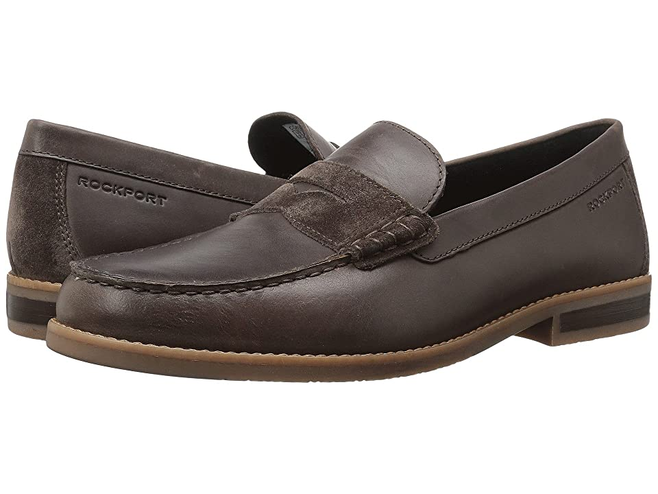 Rockport Cayleb Penny (Dark Bitter Chocolate Leather) Men