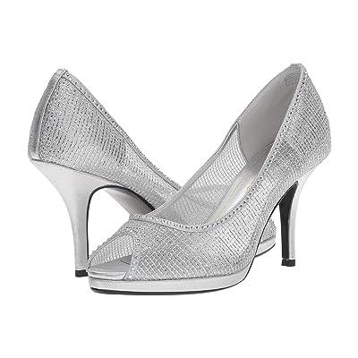 Caparros Future (Silver Metallic Mesh) High Heels