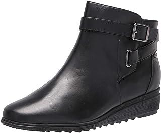 Easy Spirit Women's YARA Ankle Boot, Black, 8