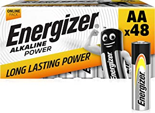 Energizer Baterias AA, Pack 48