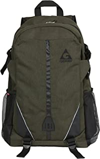 Gerry Outdoors - Elwood Heather Polyester Multi Compartment Backpack, Olive