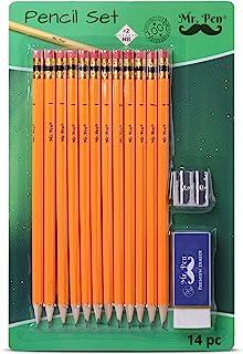 آقای قلم - مداد با ست پاک کن ، مداد پاک کن ، مداد و تیزکن ، پاک کن مخصوص بچه ها ، تاپ های پاک کن مداد ، مداد پاکت ، مجموعه مداد و تیزکن ، مجموعه مدادها