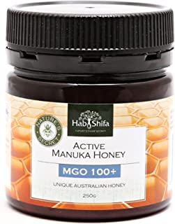 Manuka Honey MGO 100+ | Premium Quality - Australian Made | 100% Pure & Raw | Active Manukahoney Helps With Digestion - Sk...