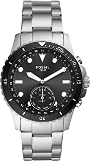Fossil Men's FB-01 Stainless Steel Hybrid Smartwatch with Activity Tracking and Smartphone...
