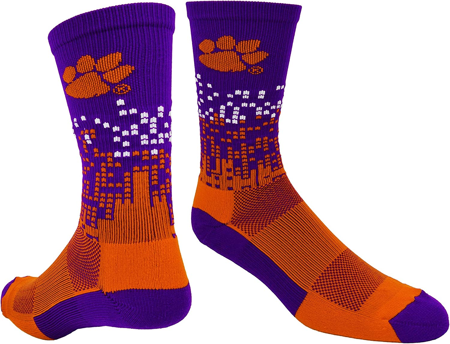Clemson Sales of SALE items from new works Tigers Socks Direct stock discount Downtown Crew