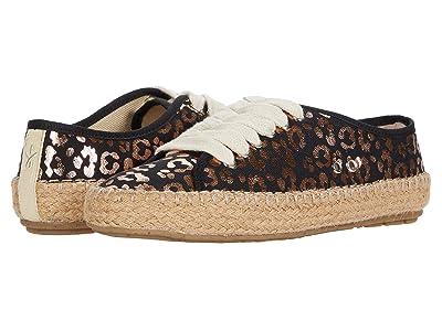 EMU Australia Kids Agonis Teens (Little Kid/Big Kid) (Black Leopard) Girls Shoes
