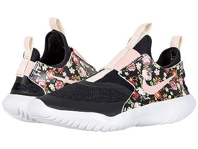Nike Kids Flex Runner (Big Kid) (Black/Pink Tint) Girls Shoes