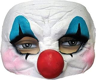 Costume Mask Happy Clown Latex Half Costume Mask -Scary Mask
