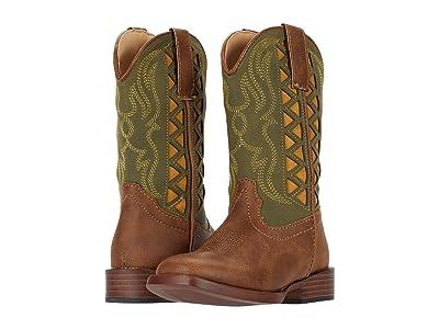 Roper Kids Askook (Toddler/Little Kid) (Green) Cowboy Boots