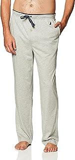 Nautica Men's Soft Knit Sleep Lounge Pant Pajama Bottom, Grey Heather, XX-Large