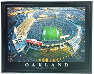 Football Oakland Raiders Coliseum Framed Wall Art F7540A